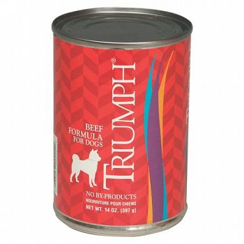 Triumph Can Food 13.2 oz / Beef (Case of 12)