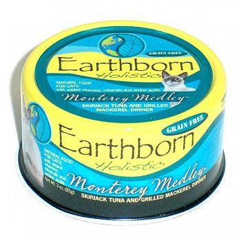 Earthborn Monterery Medley Feline 3 oz. ea. (Case of 24)