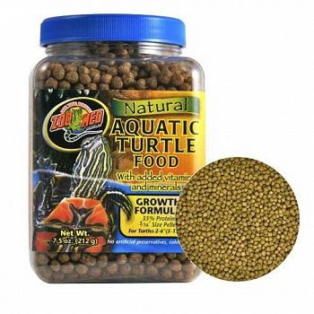 Aquatic Turtle Food Growth Formula