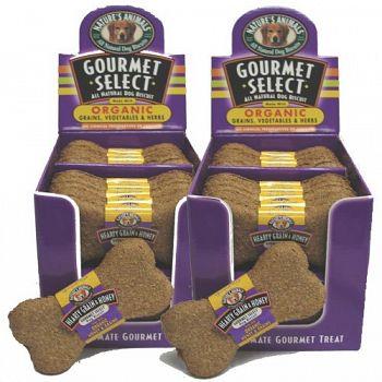 Organic Dog Treat / Grain and Honey (Case of 48)
