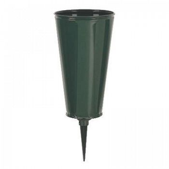 Outdoor Cemetery Vase - 8 in.