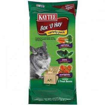 Box O Hay Value Pack for Small Pets - 3.45 oz.
