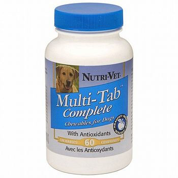 Multi-Tab Complete Vitamin Supplement for Dogs - 60 ct.