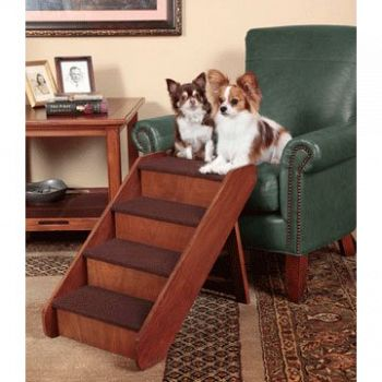 Pupstep Wood Stairs - Large