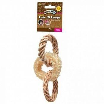Super Pet Natural Lots  O Loops Toss Toy
