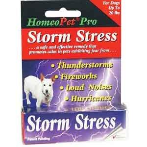 Homeopet Storm Stress K-9 Dog Remedy