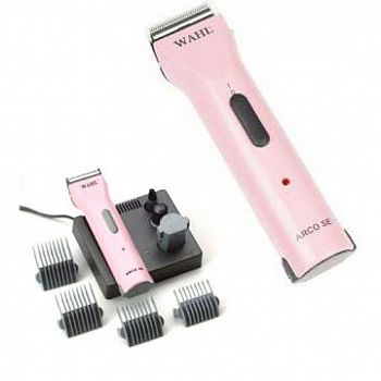 Wahl Moser Arco Dog Clipper Kit - Pink
