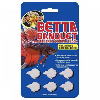 Betta Banquet Blocks 6 pack