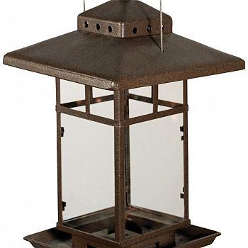 Metal Square Lantern BirdFeeder