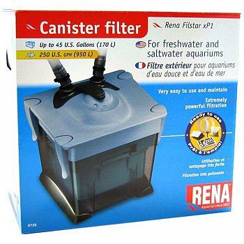 FilStar xP1 Canister Power Aquarium Filter - 45 GALLON
