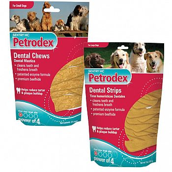 Petrodex Dental Chews and Strips
