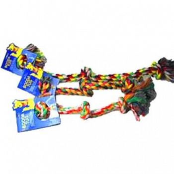 Dog Rope Tug Toy - Multicolor