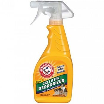 Arm and Hammer Litter Deodorizing Spray 16 oz. (Case of 8)