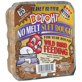 Peanut Butter Delight Wild Bird Suet 11.75 oz.