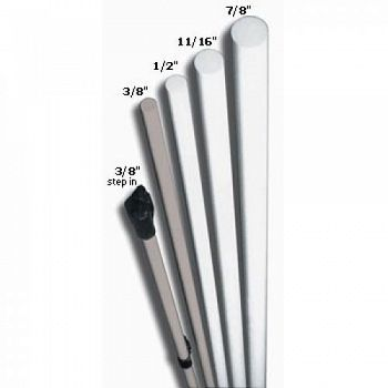 Sunguard Fiberglass Drilled Post - 7/8 in. x 5 ft. (Case of 10)
