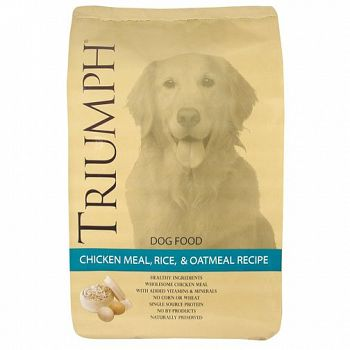 Chicken Rice & Oatmeal Dog Food - 40 lbs.