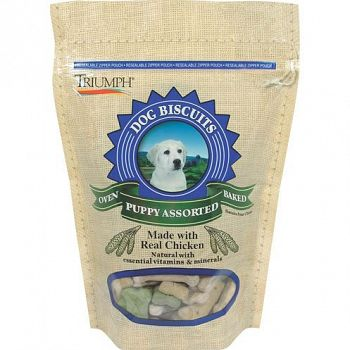 Puppy & Training Natural Biscuits (Case of 8)