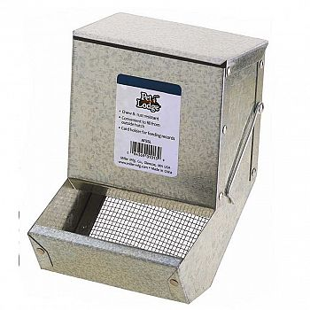 Small Animal Feeder with Sifter Bottom
