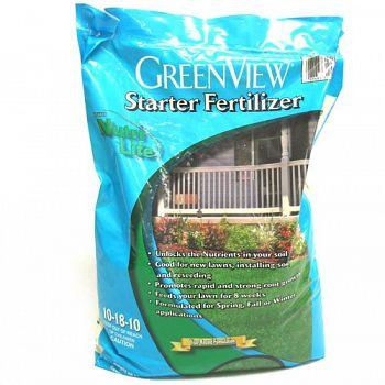 Greenview Starter Fertilizer 10-18-10 - 15000 sq ft.