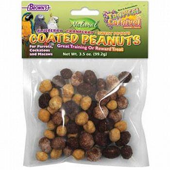 Tropical Carnival Coated Peanuts - 3.5 oz.