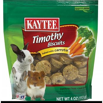 Timothy Hay Baked Small Pet Treat - Carrot / 4 oz.