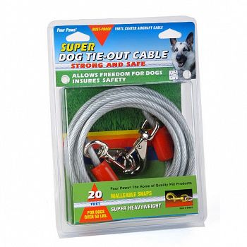 Super Dog Tieout Cable