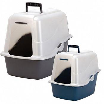 Deluxe Hooded Litter Pan Set Cat Supplies Gregrobert