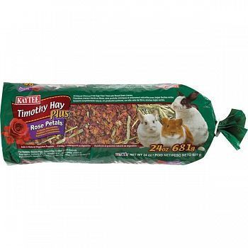 Timothy Hay Plus Rose for Small Pets - 24 oz.
