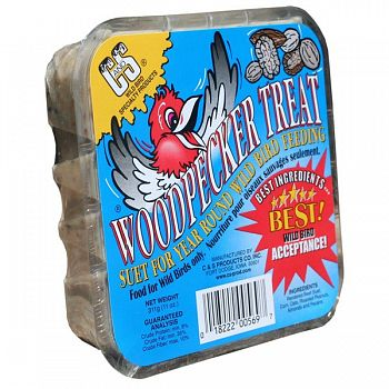 Woodpecker Suet Cake Treat 11 oz.