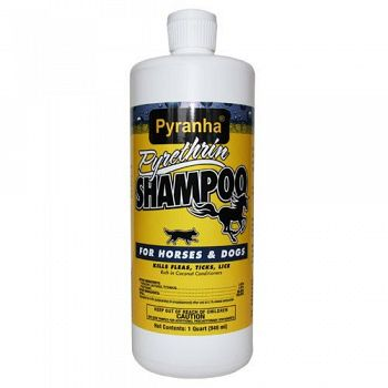 Pyrethrin Shampoo for Horses or Dogs 32 oz.