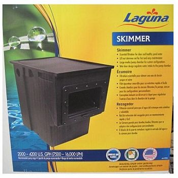 Laguna pond skimmer filter pond supplies gregrobert for Pond skimmer filter