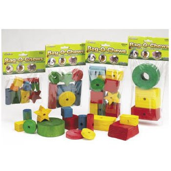 Bag-O-Chews Wood Chew Toys for Small Animals