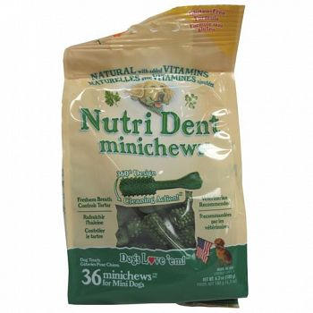 Nutri Dent for Dogs - Mini/ 36 pk.