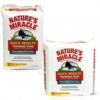 Natures Miracle Quick Results Training Pads