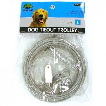 Vinyl Dog Trolley / Runner for Large Dogs