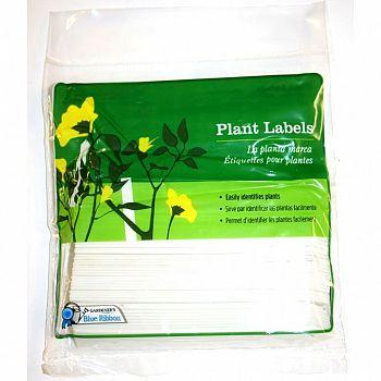 White Plant Labels 50 pk (Case of 12)
