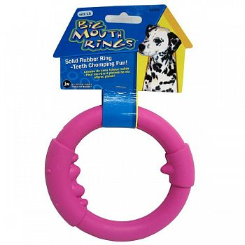 Single Big Mouth Rings Dog Toy - Large