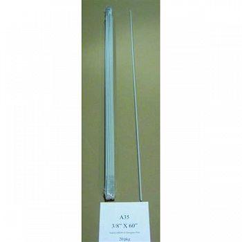 Sunguard Fiberglass Rod Post 3/8 in. x 5 ft. (Case of 20)