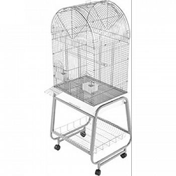 Open Dome Top Cage With Removable  New Item   1225