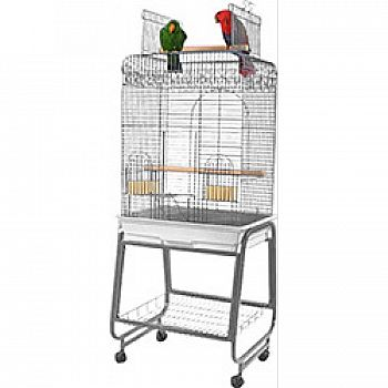 Open Flat Top Cage With Removable  New Item   1225