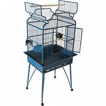 Victorian Open Top Cage With Removable Legs