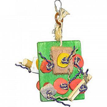 Java Wood Nik-nak Bird Toy