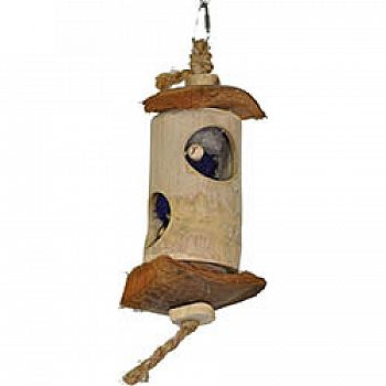 Java Wood Suprise Lantern Bird Toy