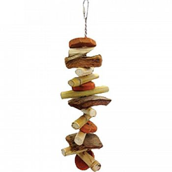 Java Wood Munchie Vinie Bird Toy