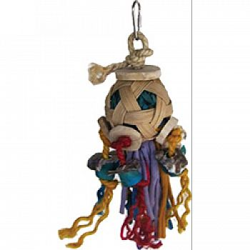 Java Wood Zombie Bird Toy
