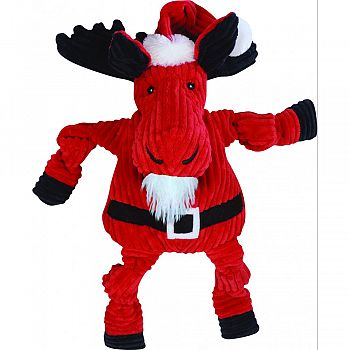 Santa Moose Knottie Dog Toy MULTICOLORED EXTRA LARGE