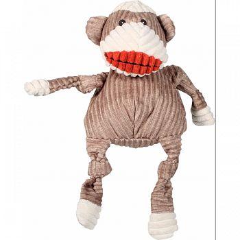 Sock Monkey Knottie Dog Toy  LARGE