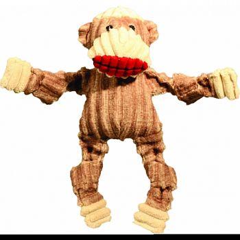 Knotties Wee Huggles Dog Toy SOCK MONKEY XSMALL