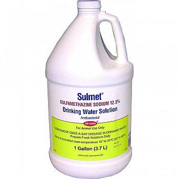 Sulmet Drinking Water Solution 12.5%  1 GALLON