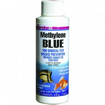 Methylene Blue Disease Preventative  4 OUNCE